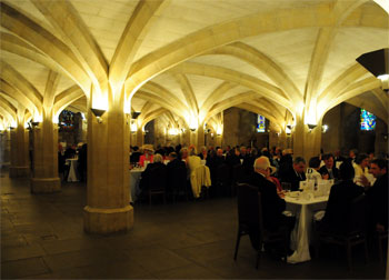 Lunch in Guildhall Crypt